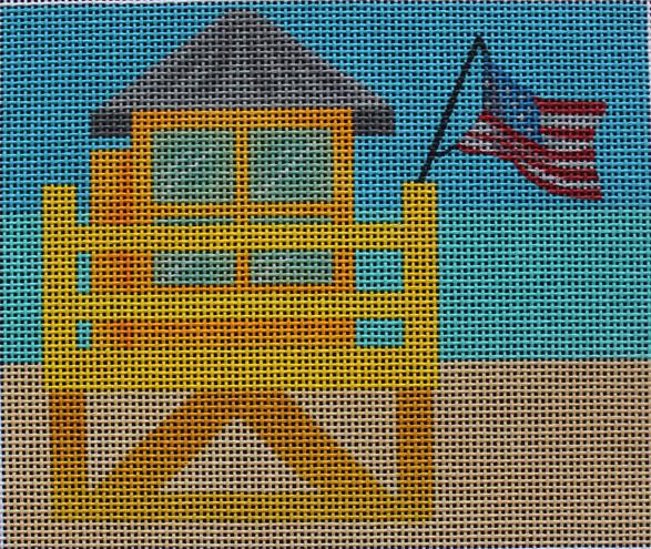 ME42 - Yellow Lifeguard Tower