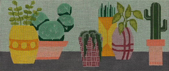 ME102 - Potted Cacti