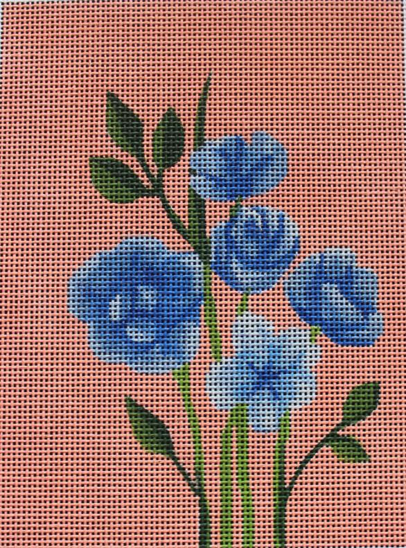 ME48 - Blue Flowers