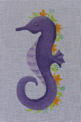ME54 - Floral Seahorse