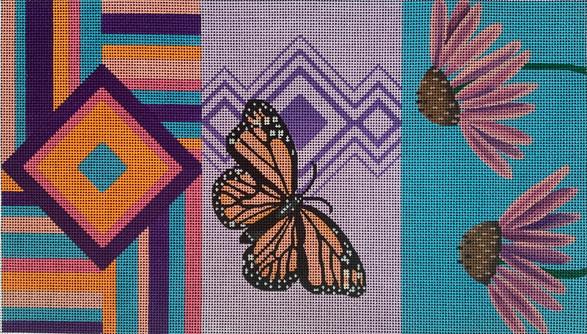ME89 - Butterfly/Coneflower Clutch