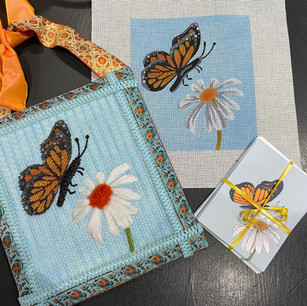 ME123 - Butterfly & Daisy