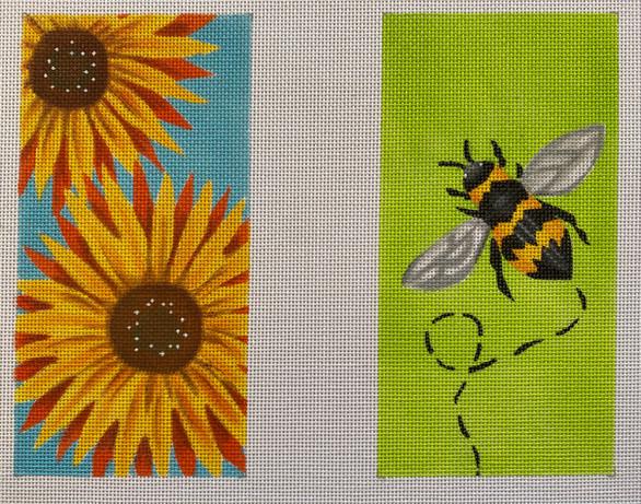 ME109 - Sunflower Bee Eye Glass Case
