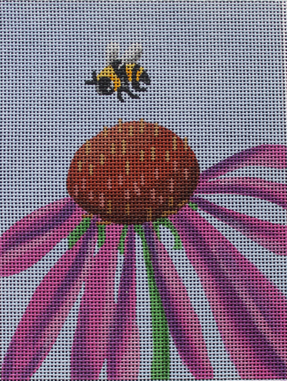 ME57 - Cone Flower with Bee