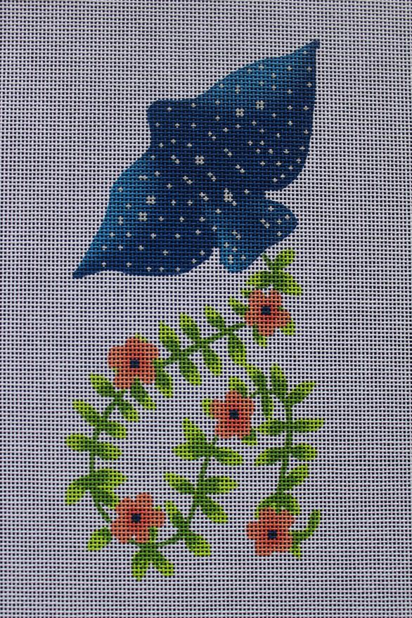 ME56 - Floral Manta Ray