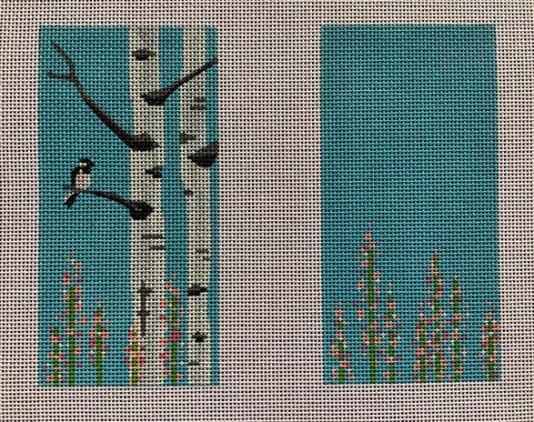 ME98 - Birch Tree/Bird Eye Glass Case