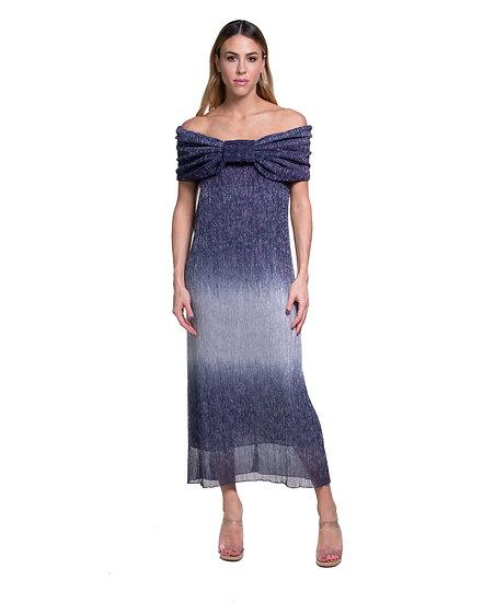 LONG METALLIC DRESS
