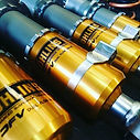New dampers for our #MX5 #turbo #Racecar