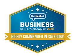 TBO BOTY 2020 - Highly Commended in Cate