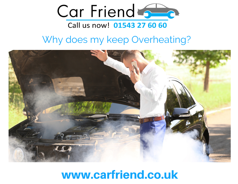 Car Overheating issues & how to sort them out