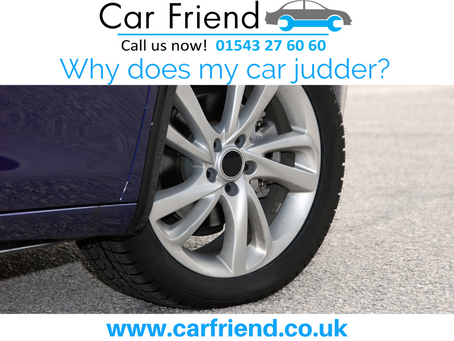 Why does my car judder?