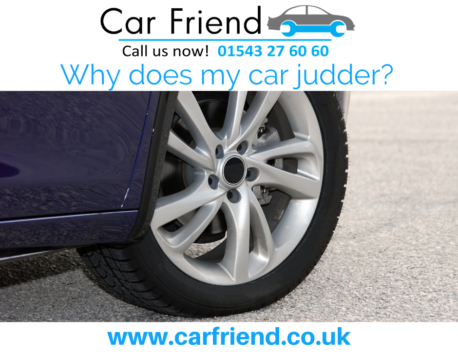 Information on what can cause a car to judder