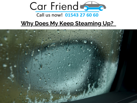 Why Does My Car Keep Steaming Up?