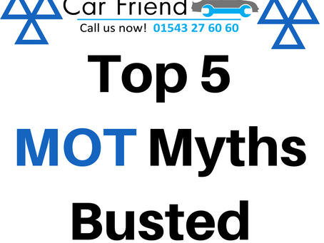 Top 5 MOT Myths - BUSTED