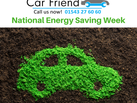 National Energy Saving Week & Your Car