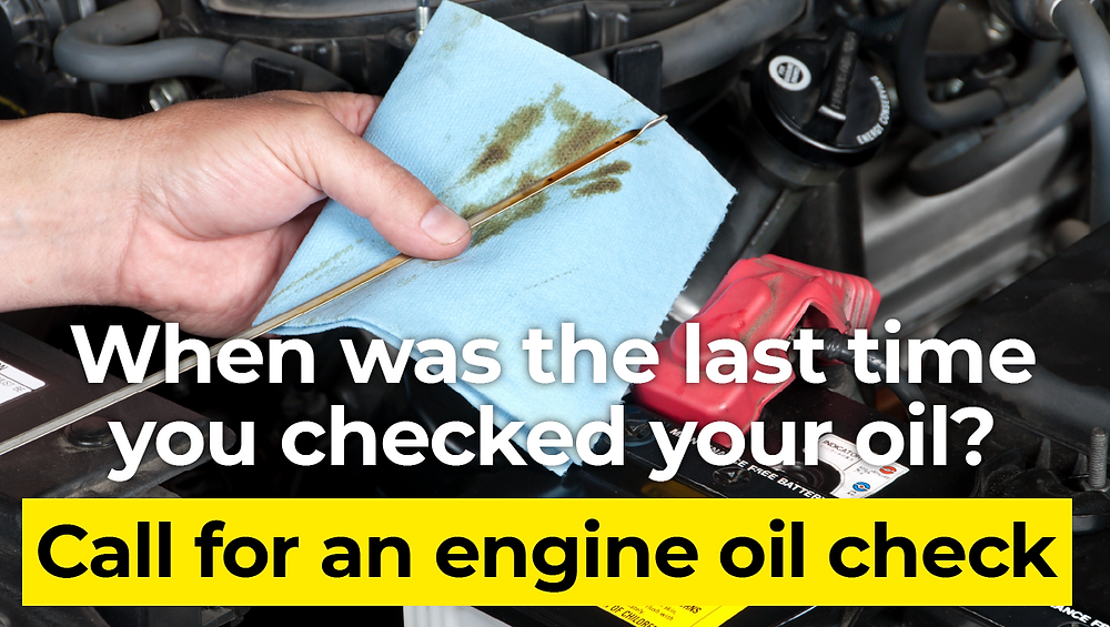 Importance of checking your cars oil