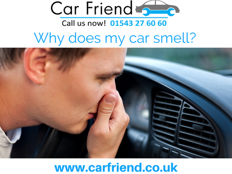 Why does my car smell?