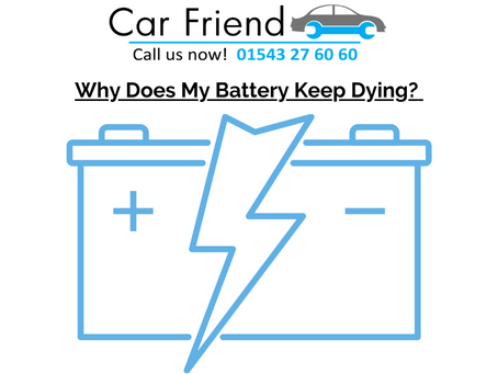 Why Does My Cars Battery Keep Dying?