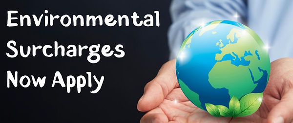Environmental surcharges for car waste