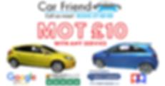 Car MOT £10 - MOT Deal Offer
