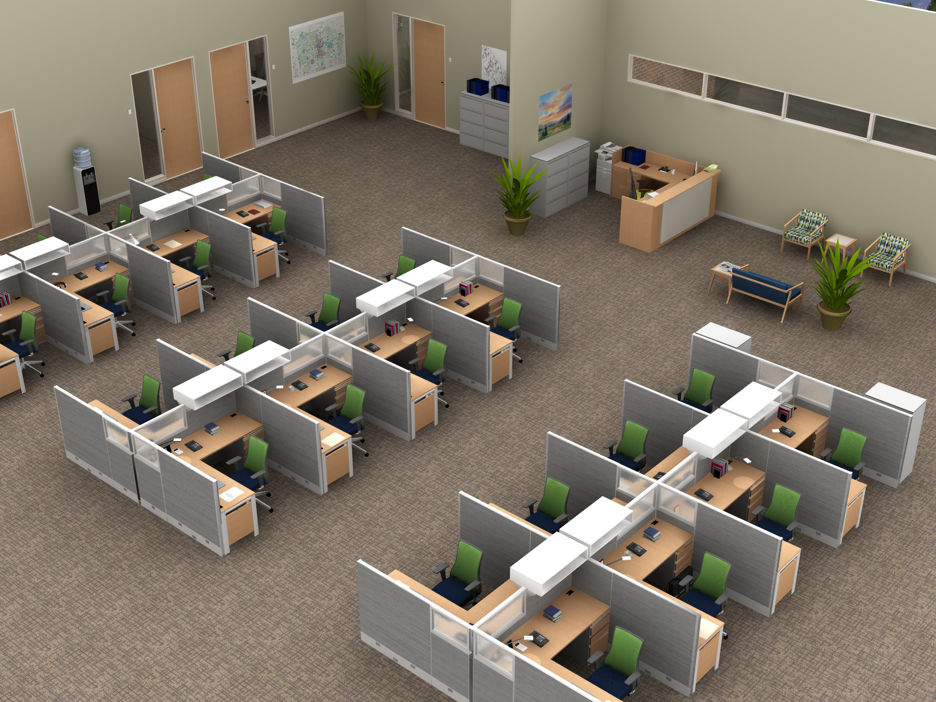 Spaces to Work