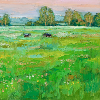 Contemporary english meadow in suffolk by Halima Washington-Dixon