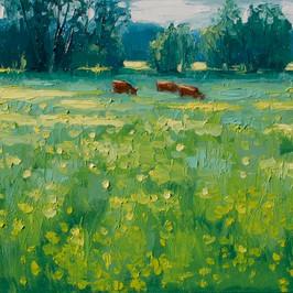 Contemporary english meadow in suffolk by Halima Washington-Dixon