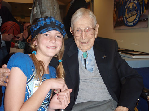 Makena Meets Coach Wooden.JPG