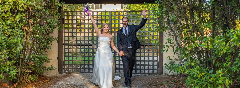 Alyssa & Kyle - Front Gate