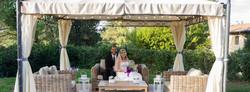 Gazebo at Totally Tuscany Villas