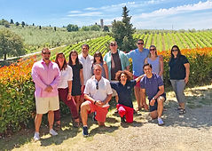 Group Tour at Winery
