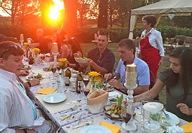 Al Fresco Dining During Sunset