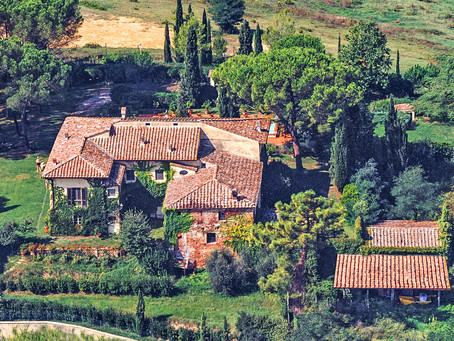 From Old-World Country House to Luxury Tuscany Villa...