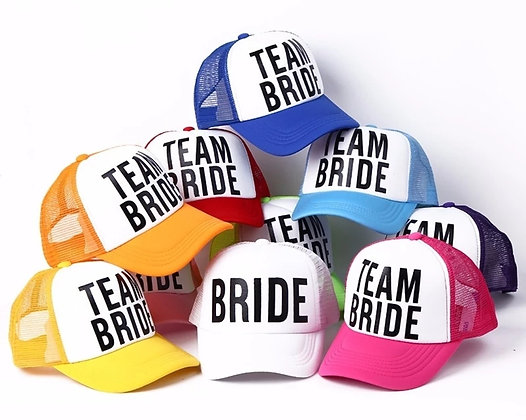 Bride Team Caps