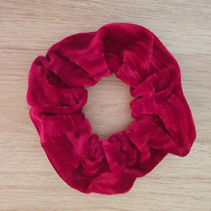 Scrunchie - Cherry Red Velvet