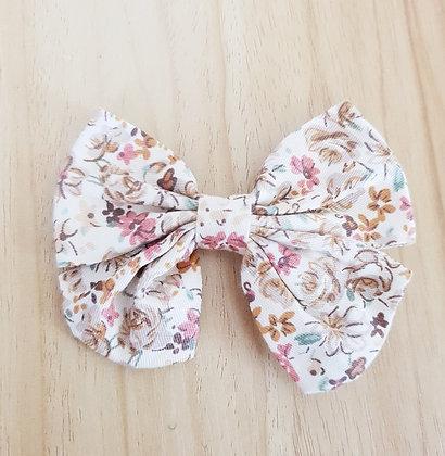 Bonnie Bow Clip - Floral