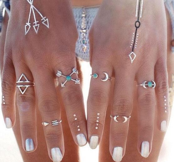 Misteeq Fashion Ring Set