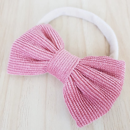 Misty Bow - Dusty Pink