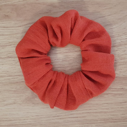 Scrunchie - Burnt Orange