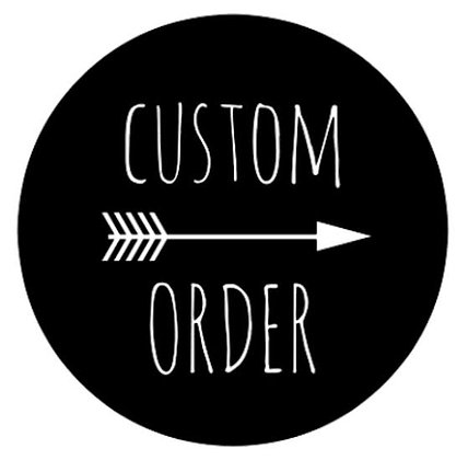 Custom Order Scrunchie