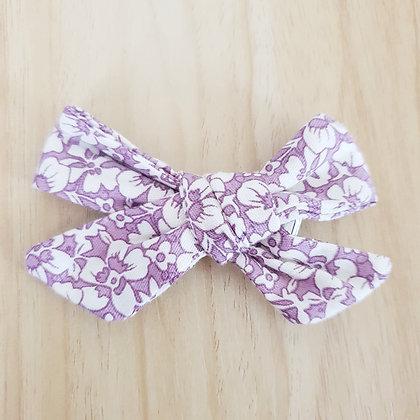 Bonnie Bow Clip - Purple