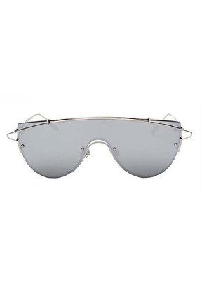 'Geo' Mirrored Silver