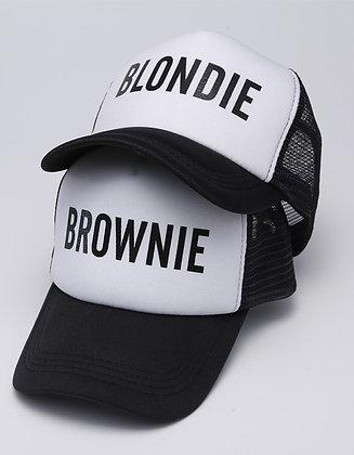 Blondie and Brownie Caps
