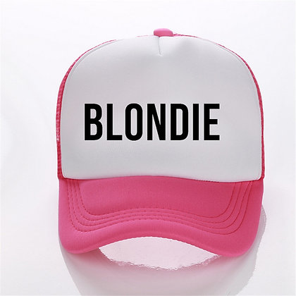Coloured Blondie and Brownie Cap