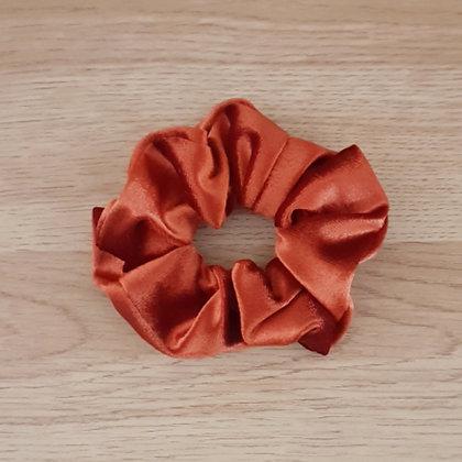 Scrunchie - Velvet Burnt Orange