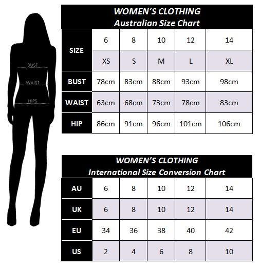 Size Chart Misteeq