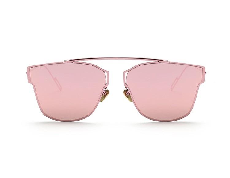 Misteeq Fashion Rose Gold Sunglasses