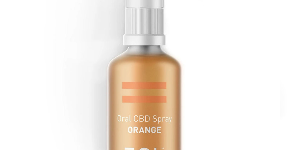 EQL - 500mg CBD Oil Spray (Orange)