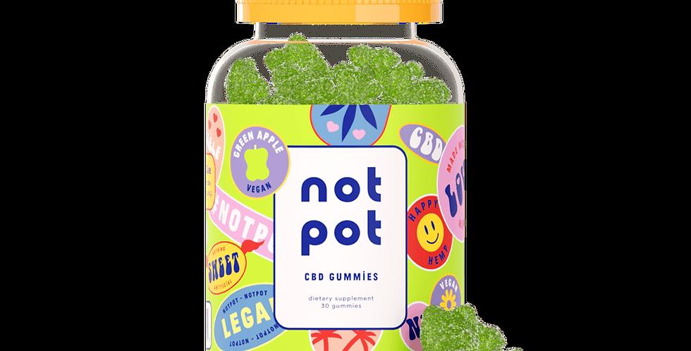 Not Pot - Vegan CBD Gummies (Apple)
