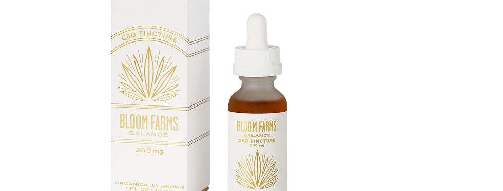 Bloom Farms - 300 mg Balance CBD Tincture